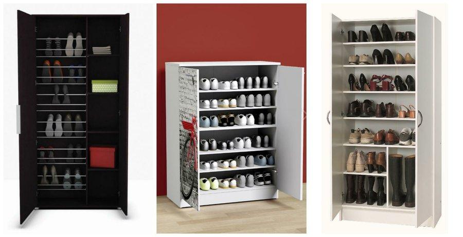 Zapatos siempre en orden con estas ideas decoraci n for Zapateros estrechos conforama
