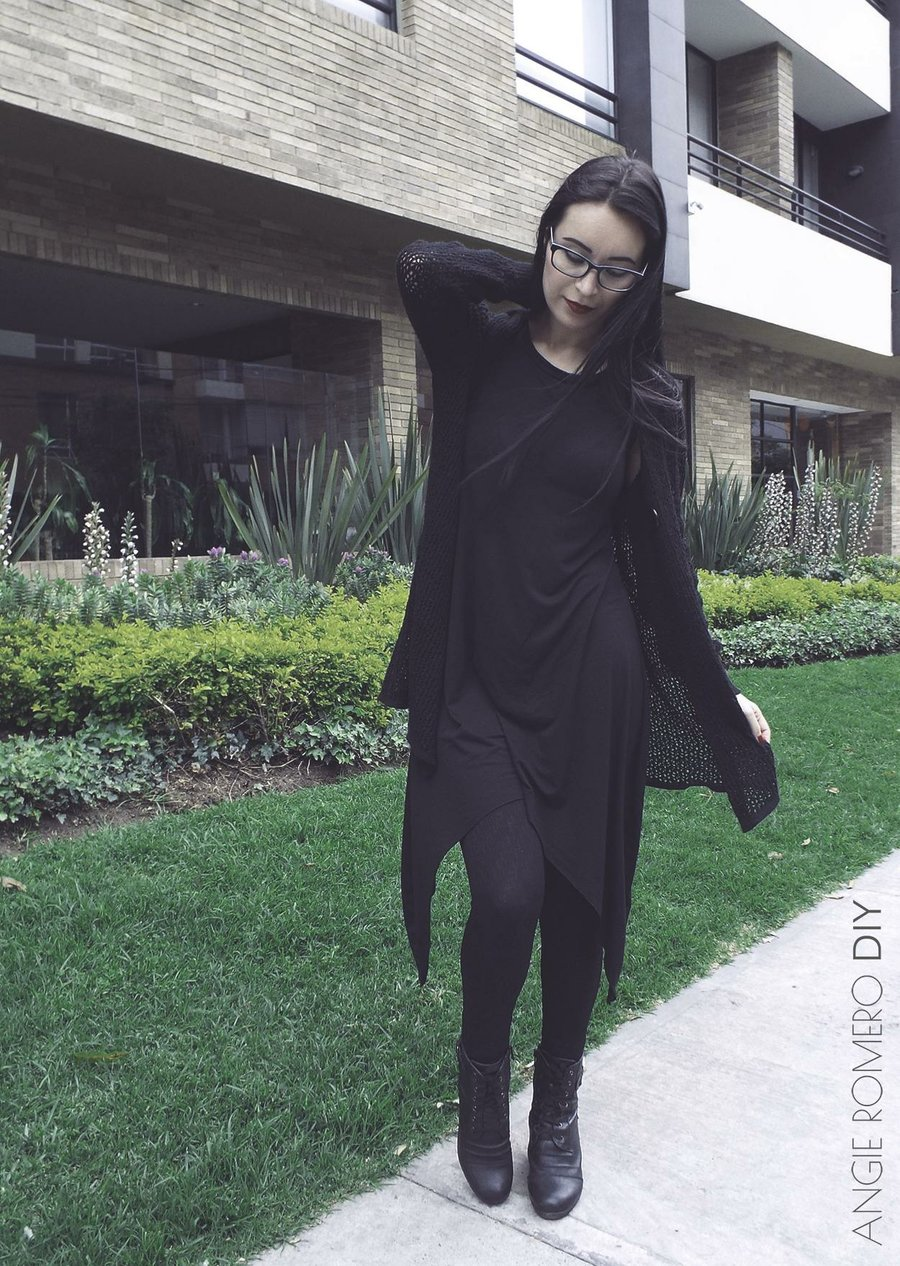 Como hacer un vestido largo asimetrico