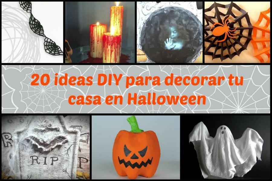 20 Ideas Diy Para Decorar Tu Casa En Halloween Manualidades - Manualidades-de-halloween-para-decorar