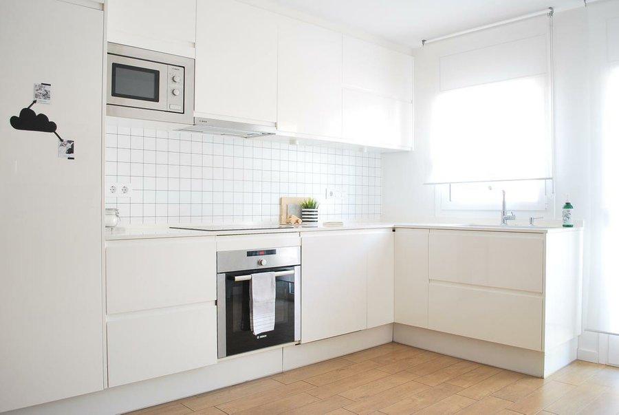 21 imágenes de cocinas blancas | Decoración