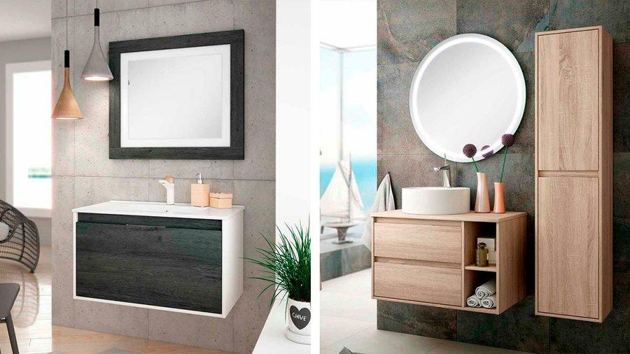Muebles de ba o y lavabos esto es lo que se lleva for Muebles aseo baratos