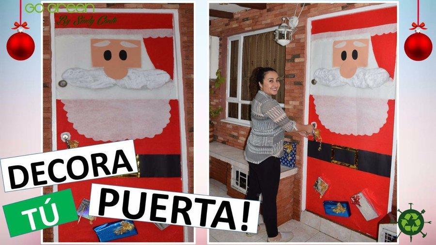 Ideas Para Decorar Puertas En Navidad.Como Decorar Tu Puerta En Navidad Manualidades