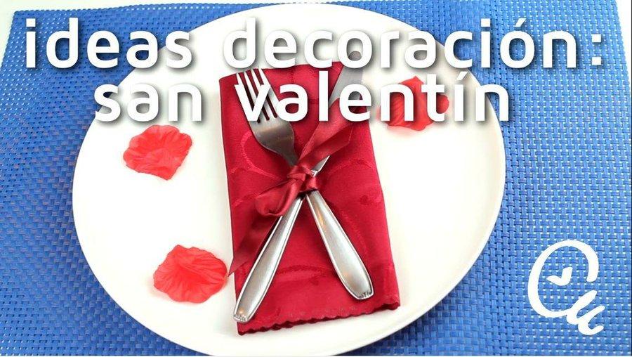 Como Hacer Una Decoracion Especial Para La Mesa De San Valentin - Decoracion-san-valentin-manualidades