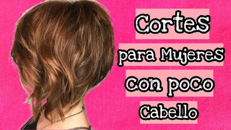 Corte de pelo fino mujer 2018