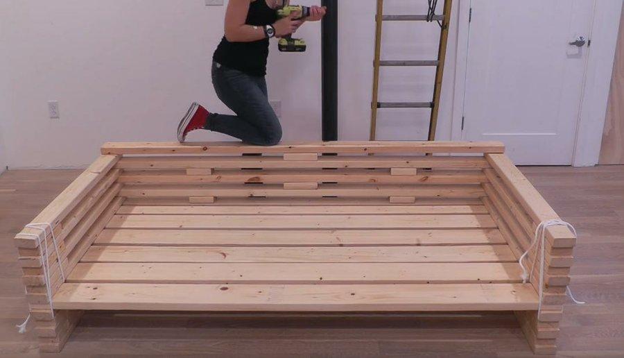 Cómo Hacer Un Sofá Con Tablas De Madera Bricolaje