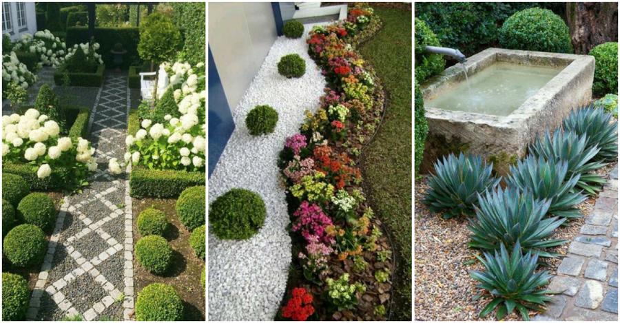 Con patios como estos qui n quiere un jard n plantas - Jardines con gravilla ...