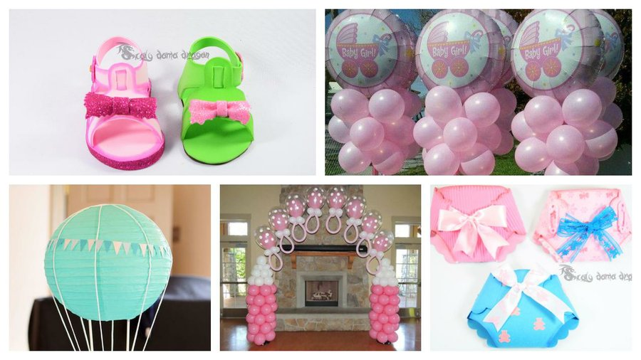 15 Ideas Para Tu Fiesta De Baby Shower Manualidades