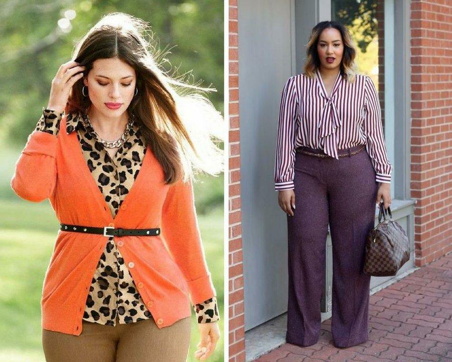 8d34600973 Outfits de tallas grandes para ir al trabajo formal y a la moda ...