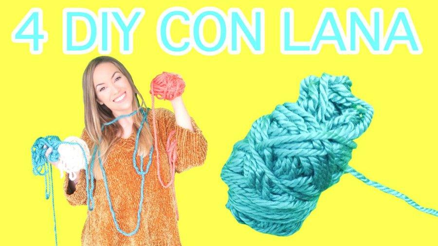 4 Manualidades Faciles Con Lana Manualidades - Hacer-cosas-de-lana