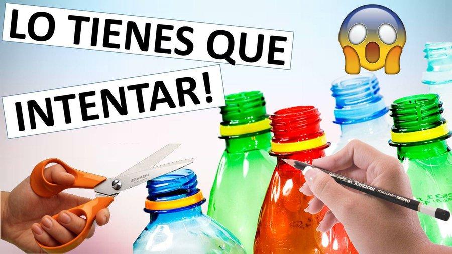 No te van a creer que lo hiciste de botellas plásticas! db2c348622d7