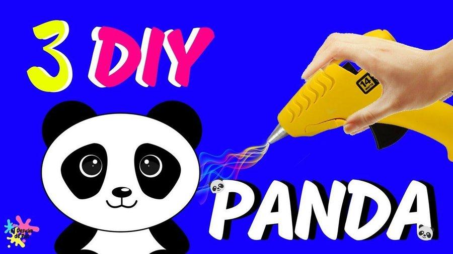 f2434b7f8d3 Manualidades fáciles de osos panda para decorar tu cuarto