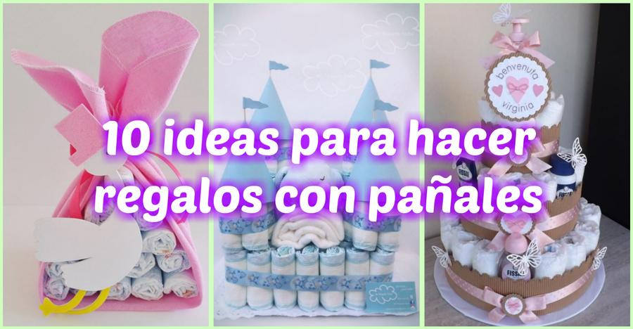 Regalos Originales Para Recien Nacidos Hechos A Mano.10 Ideas Para Hacer Regalos Con Panales Manualidades