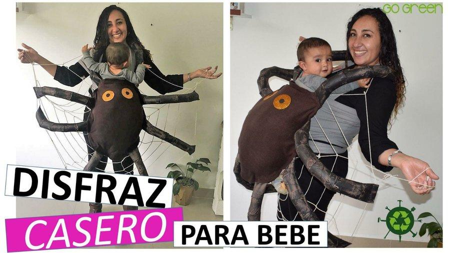 Disfraz Casero Para Bebe Con Reciclaje Manualidades - Como-hacer-un-disfraz-casero-para-halloween