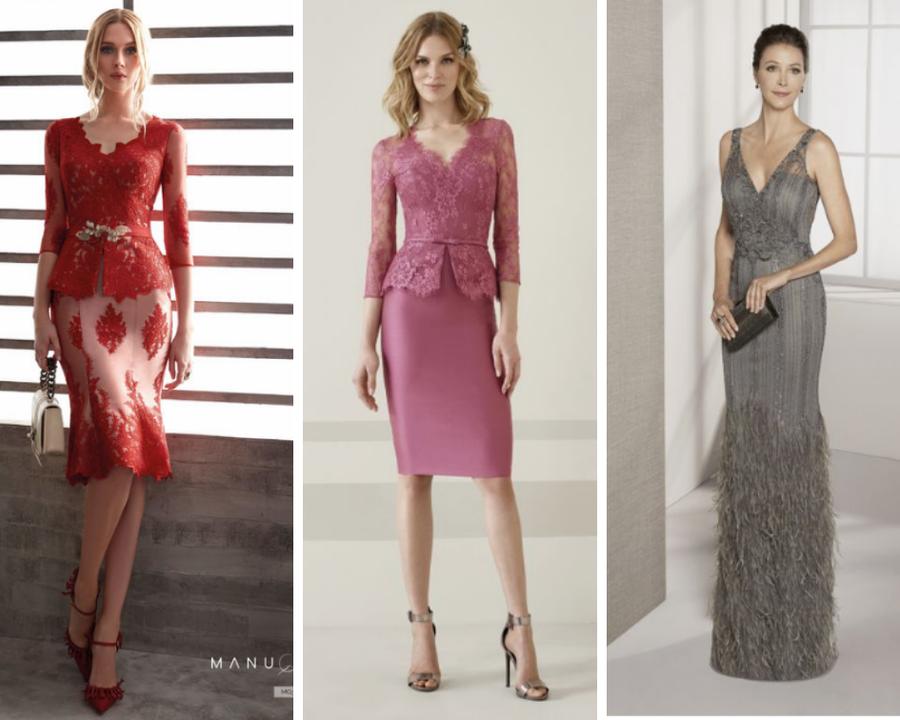 Vestidos elegantes para mujeres de 50 að³â±os