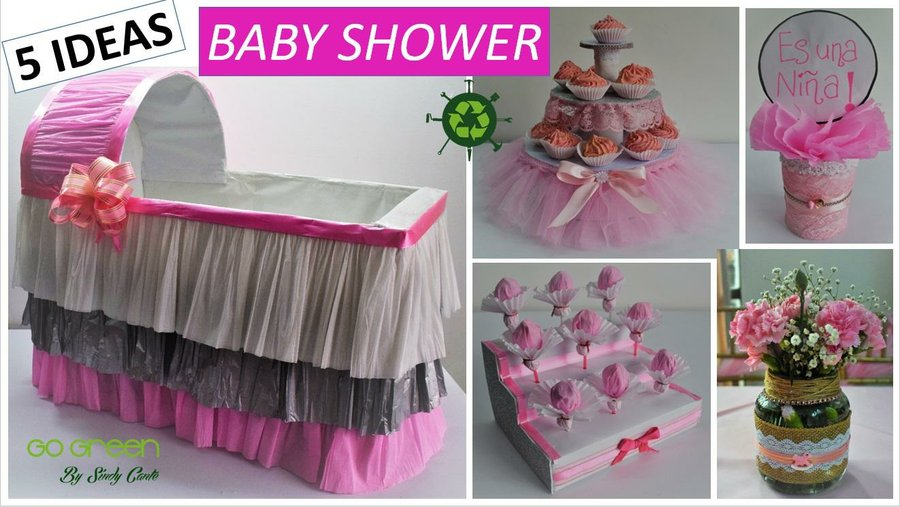 Ideas De Decoracion Baby Shower Nina.5 Ideas Faciles Y Economicas Para Decorar Un Baby Shower De