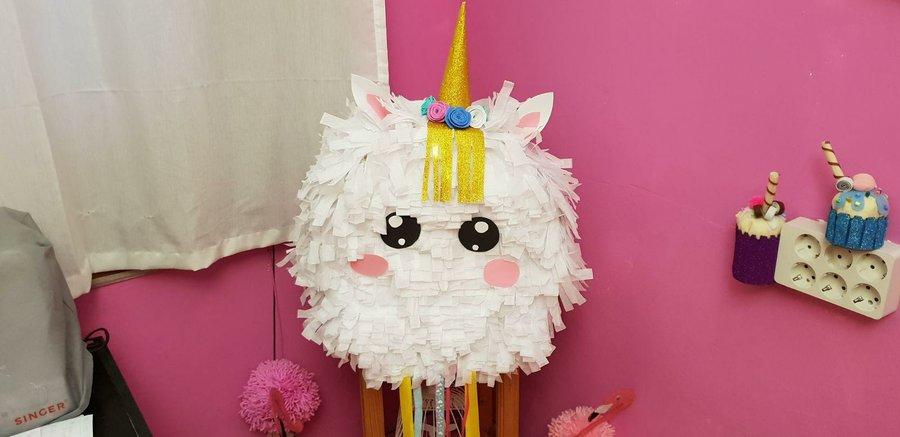 Piñata De Unicornio Manualidades