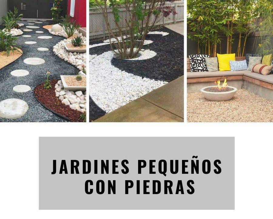 Ideas Para Jardines Pequenos Con Piedras Plantas