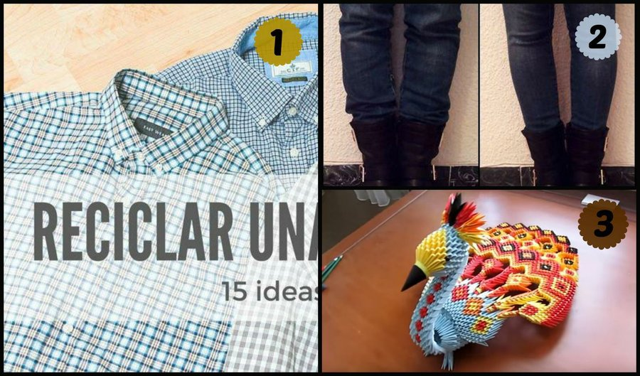 ideas de costura Ideas Para Reciclar Camisas