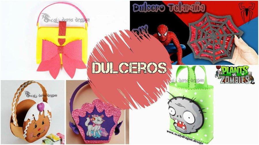 Dulceros Para Fiestas Infantiles Manualidades