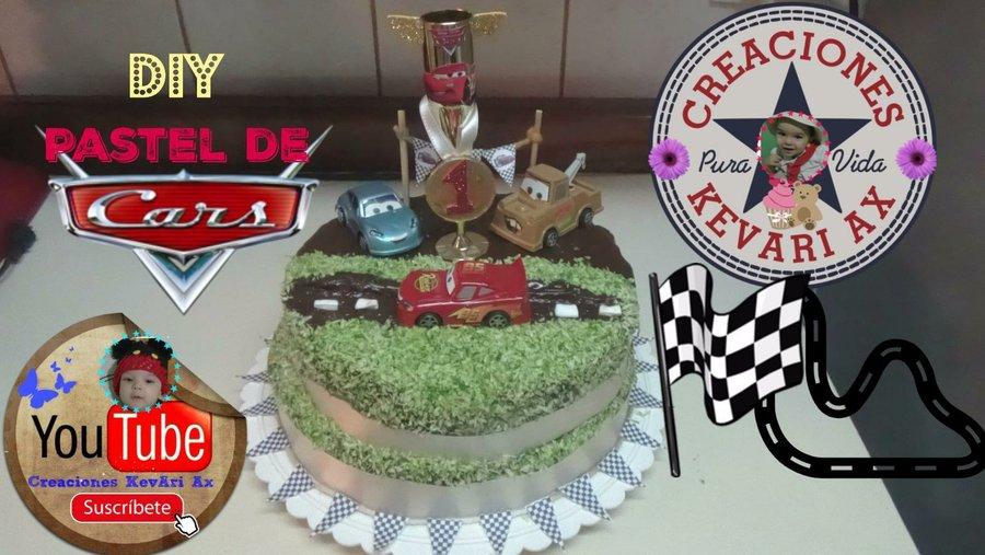 Decora tu pastel de Cars Rayo Mc Queen versin muy fcil Cocina