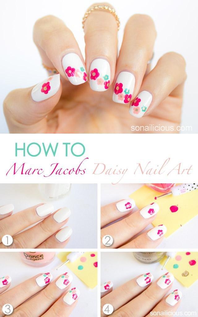 12 diseños clásicos de uñas en blanco y negro que de seguro te ...