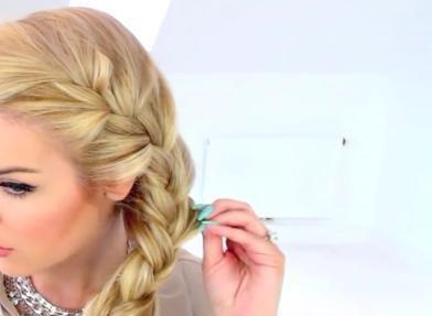 Peinado De Anna Frozen Trenza Peinados De Moda