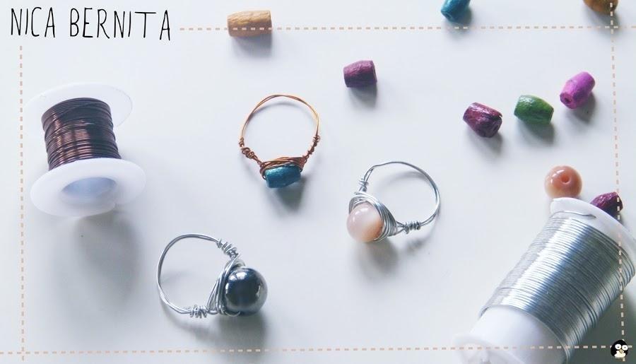 5b4a9f8702fe Cómo hacer anillos con alambre? | Manualidades