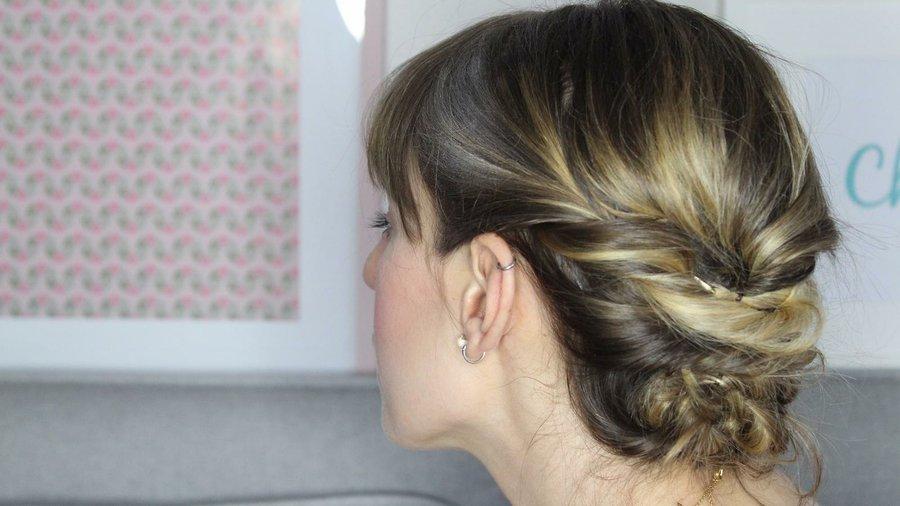 Beauty Tips Peinado Fácil Para Pelo Corto Belleza