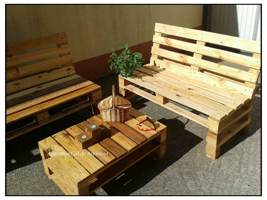 Un hermoso conjunto para la terraza bricolaje for Conjunto para terraza