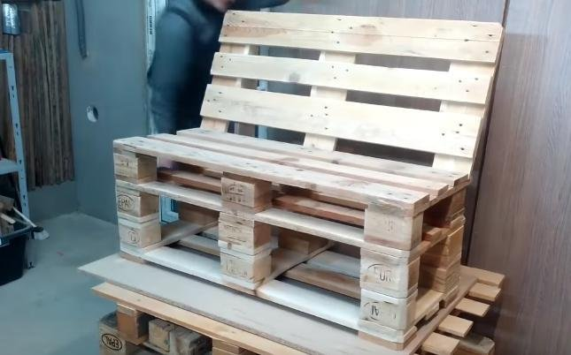 Muebles de terraza hechos con palets bricolaje - Muebles chill out ...