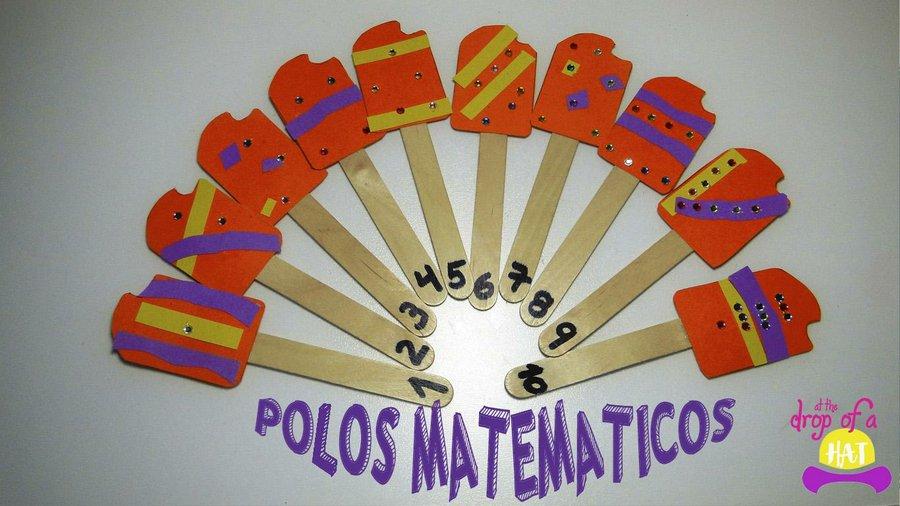 Manualidad De Verano Para Trabajar Las Matematicas Con Ninos