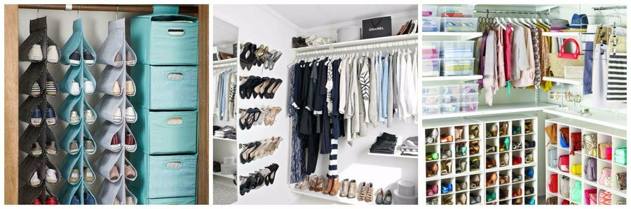 40 formas de ordenar vuestro armario decoraci n - Ordenar armarios de ropa ...