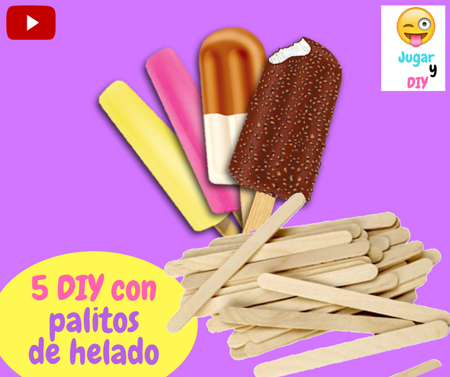 3 manualidades f ciles que puedes hacer en 5 minutos - Cosas para hacer con palitos de helado ...