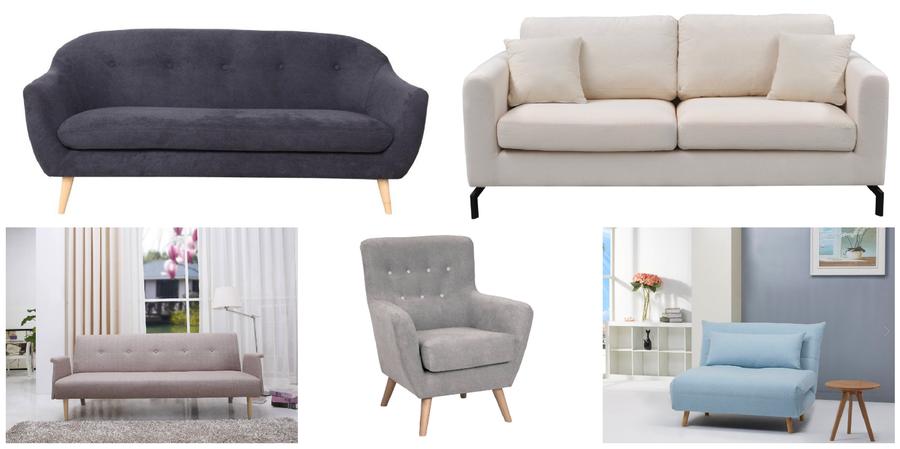 Qu tipo de sof elegir seg n la forma de tu sal n for Sofas individuales comodos