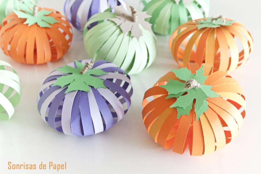 4 ideas para hacer calabazas en halloween manualidades - Plantillas para decorar calabazas halloween ...