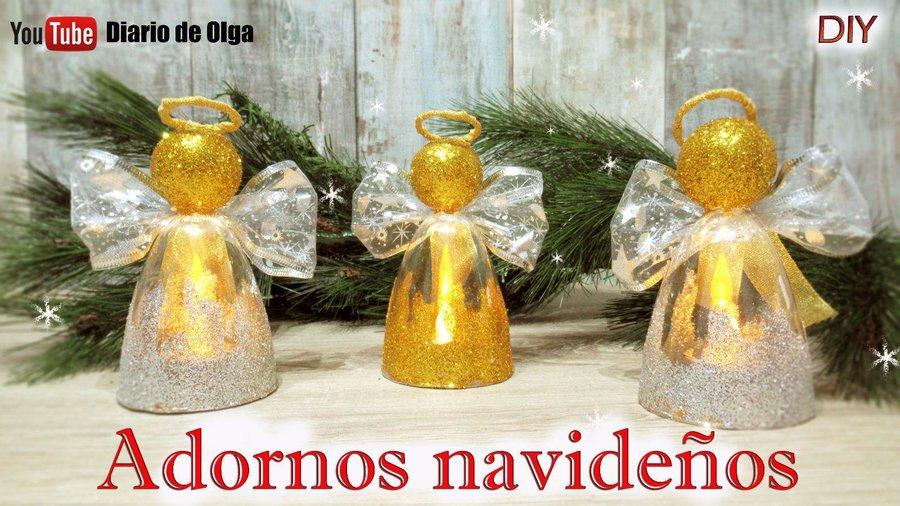 Adornos navide os para la puerta manualidades for Ideas de adornos navidenos faciles