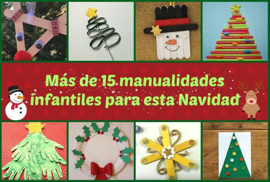 Mas De 15 Manualidades Infantiles Para Esta Navidad Manualidades - Imagenes-infantiles-de-navidad