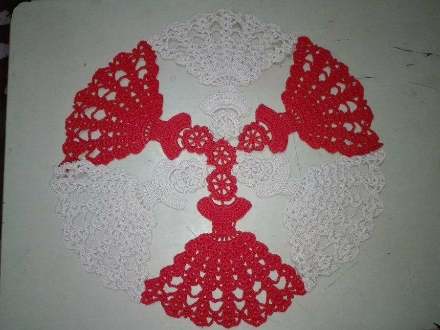 Tapete De Muñecas A Crochet 3 By Dulce Corazón Manualidades