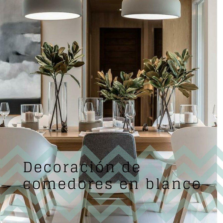Comedor blanco para tu hogar | Decoración