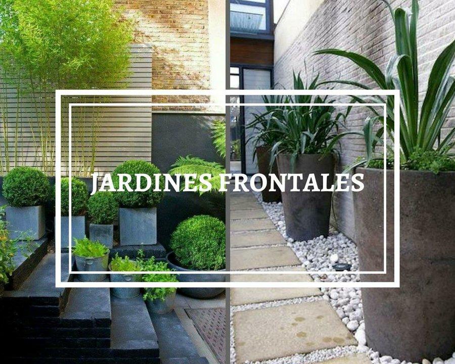 9 ideas para mini jardines decoraci n for Decoracion de la puerta de entrada
