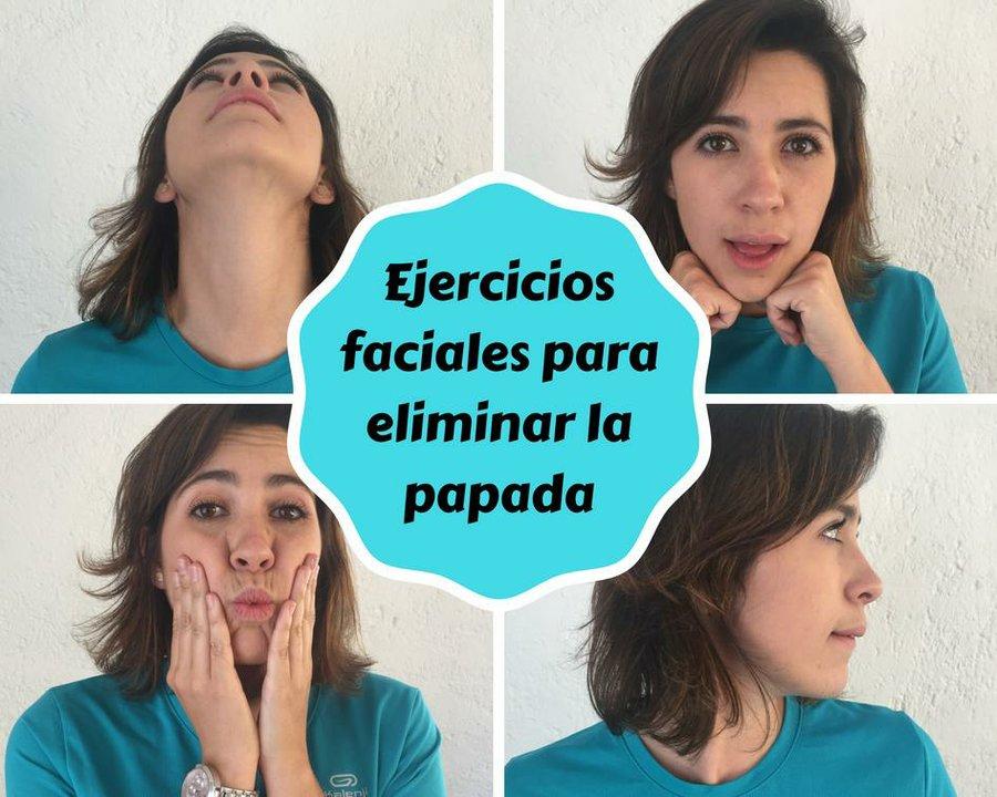 Como adelgazar rostro y papada