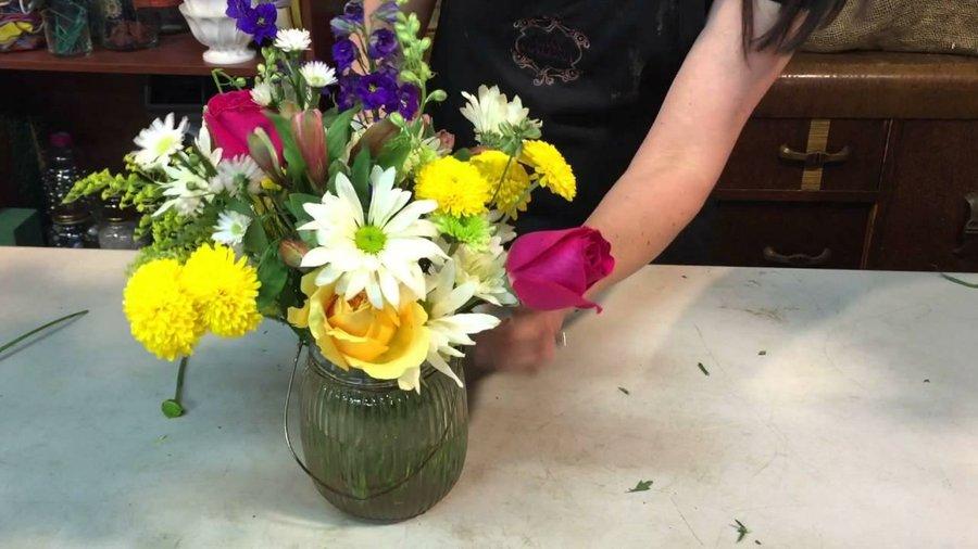 Tipos De Floreros Para Arreglos Florales Plantas