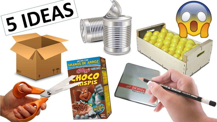 5 Manualidades Con Reciclaje Faciles Y Rapidas Que Tienes Que - Manualidades-rapidas