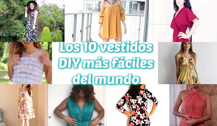 da3c3a6d3b Los 10 vestidos DIY más fáciles del mundo
