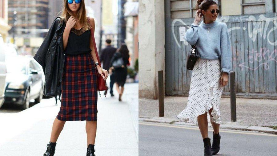 31b2686b9 Cómo combinar faldas midi este otoño | Belleza