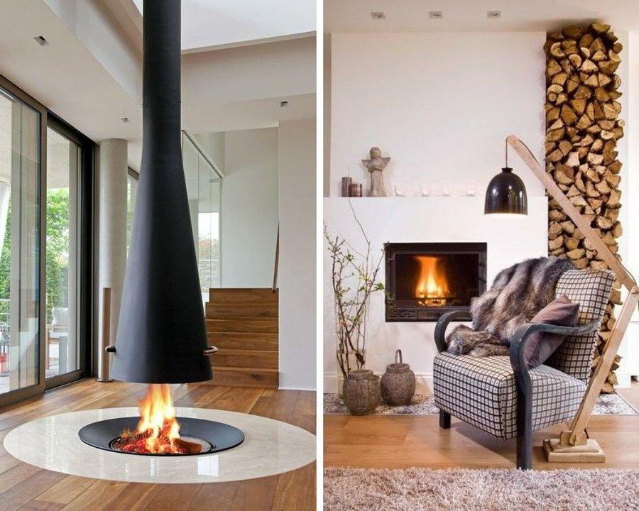 Ideas para chimeneas modernas decoraci n - Chimeneas modernas decoracion ...