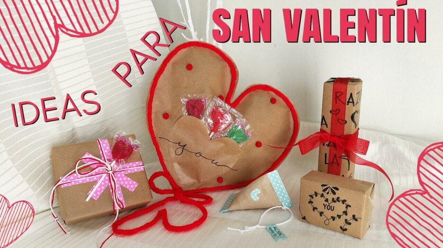 Ideas para San Valentín 2019 envuelve tus regalos