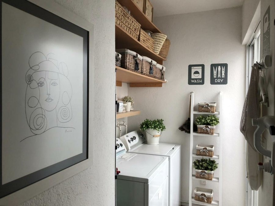 Organiza tu cuarto de lavado | Decoración